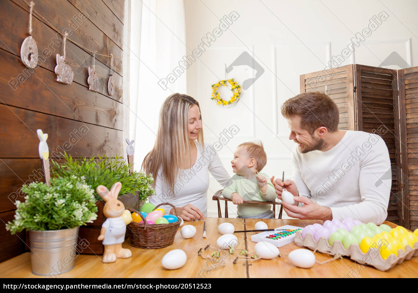 easter, concept., happy, mother, and, father - 20512523