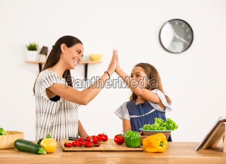 having, fun, in, the, kitchen - 20513217