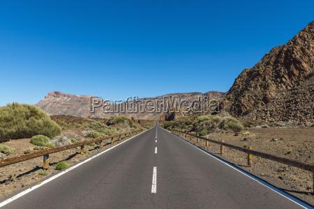 road parque nacional del teide tenerife