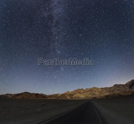 usa california death valley night shot