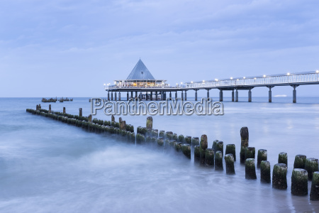 germany usedom heringsdorf remains of the