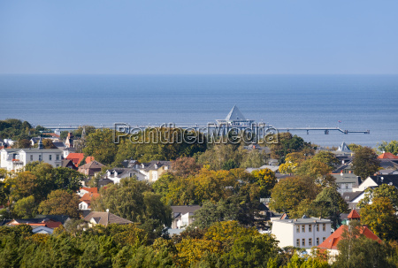 germany usedom heringsdorf view to sea