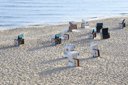 germany usedom hooded beach chairs
