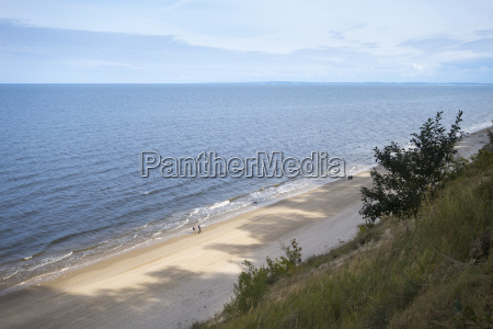 germany usedom bansin beach and sea