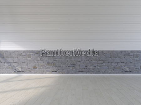 plank floor natural stone and panel