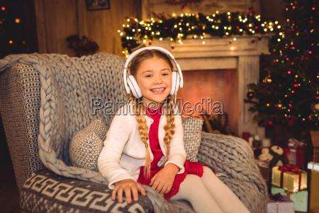 cute, girl, in, white, headphones - 20549735