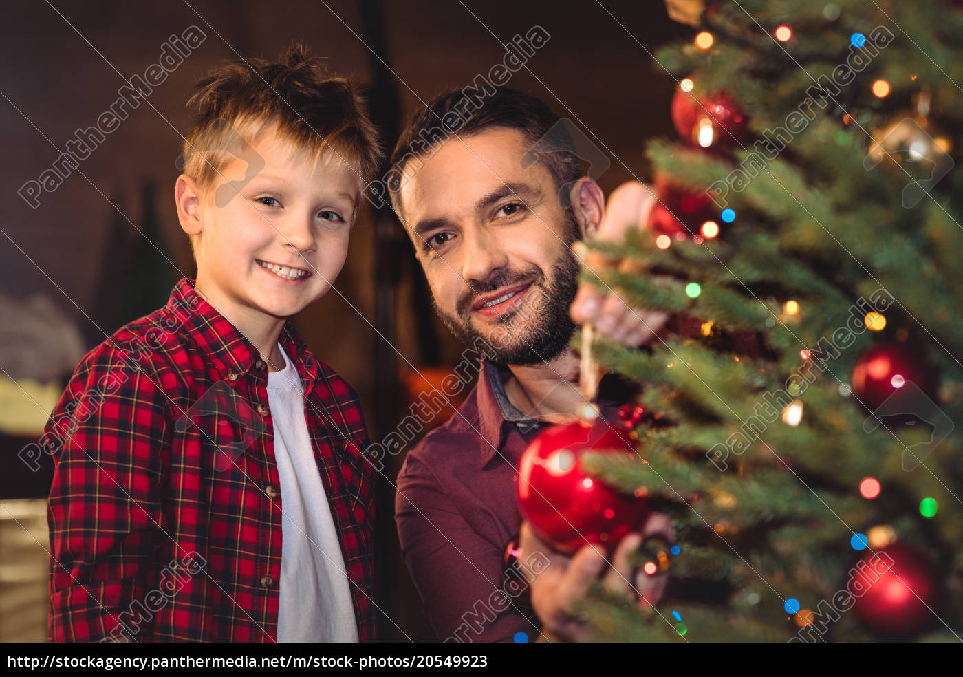 little, son, with, happy, father - 20549923