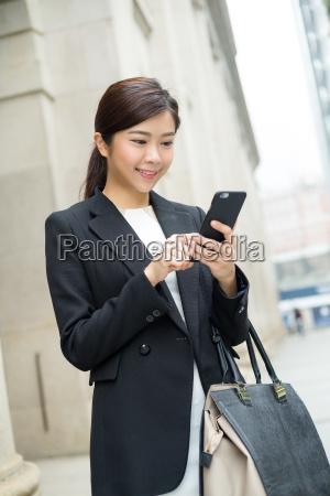 business, woman, lawyer, looking, at, mobile - 20551243