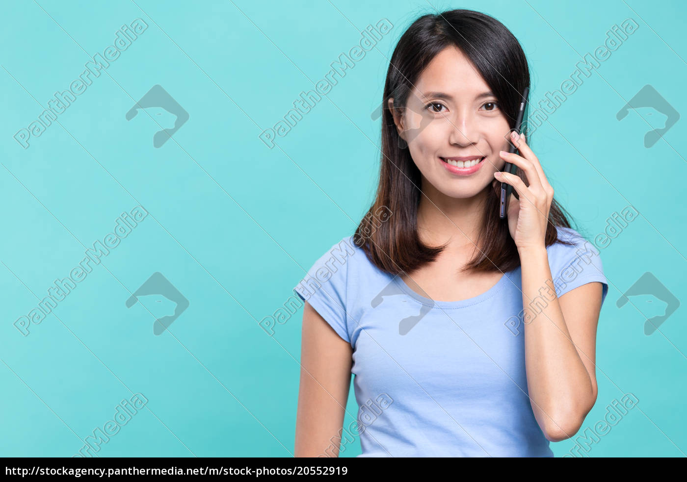 woman, talk, to, mobile, phone - 20552919