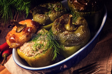 stuffed, peppers - 20555197