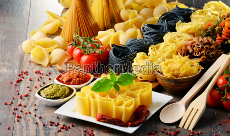 composition, with, different, sorts, of, pasta - 20556435