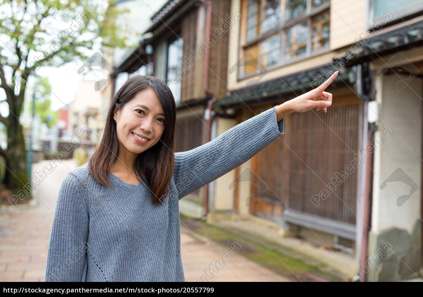woman, travel, in, kanazawa, and, finger - 20557799