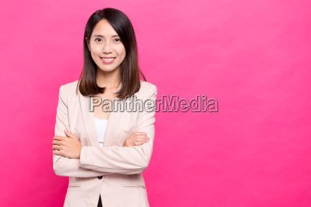 business, woman, portrait - 20558889