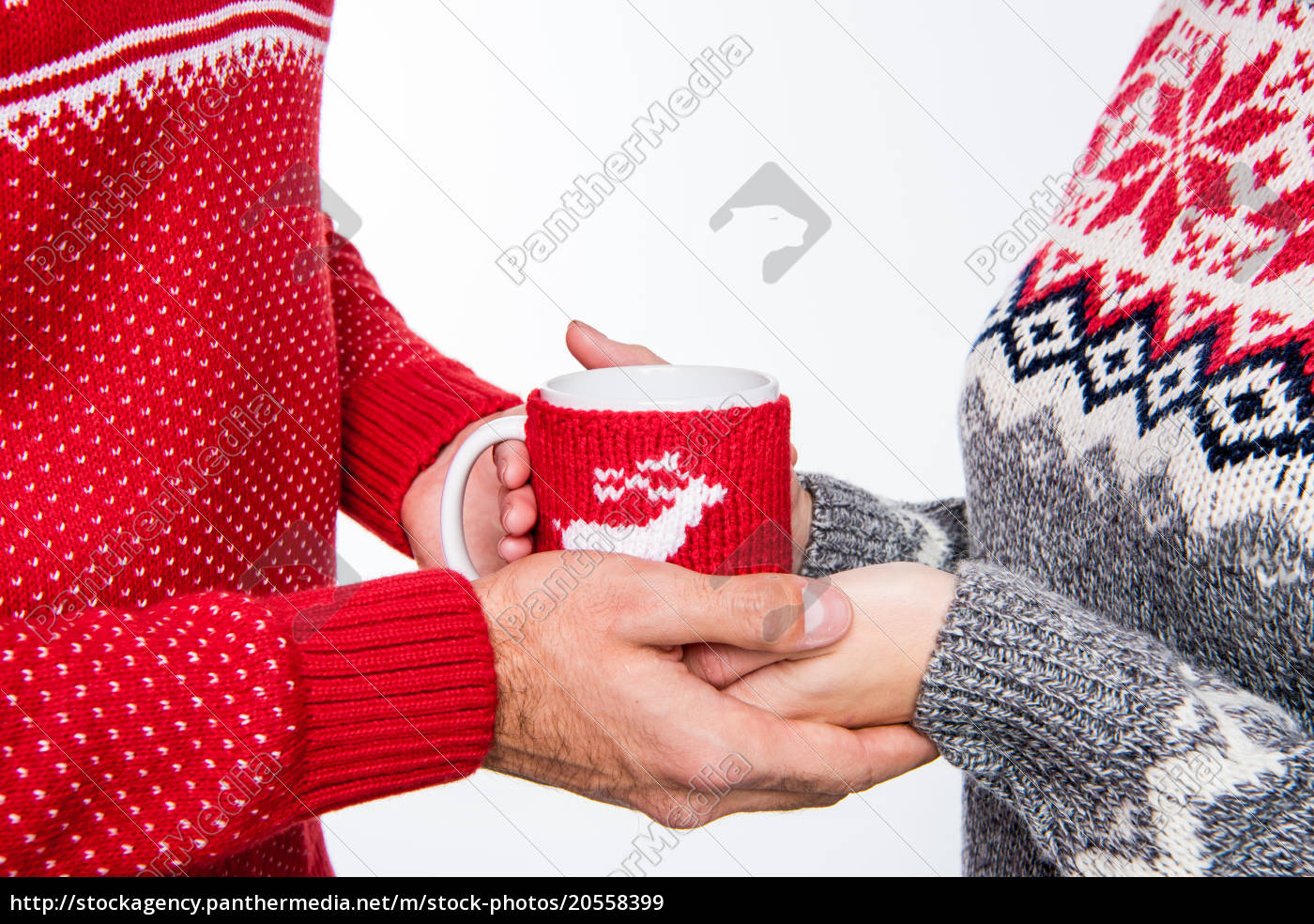 couple, holding, cup - 20558399