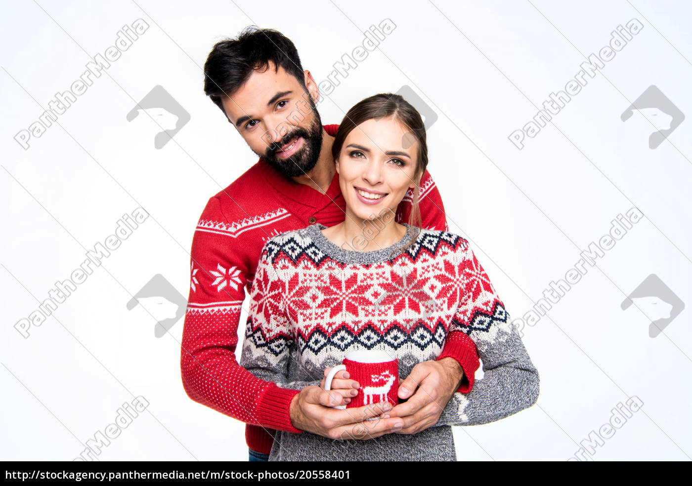 couple, holding, cup - 20558401