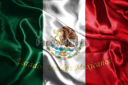 mexican national flag with eagle coat
