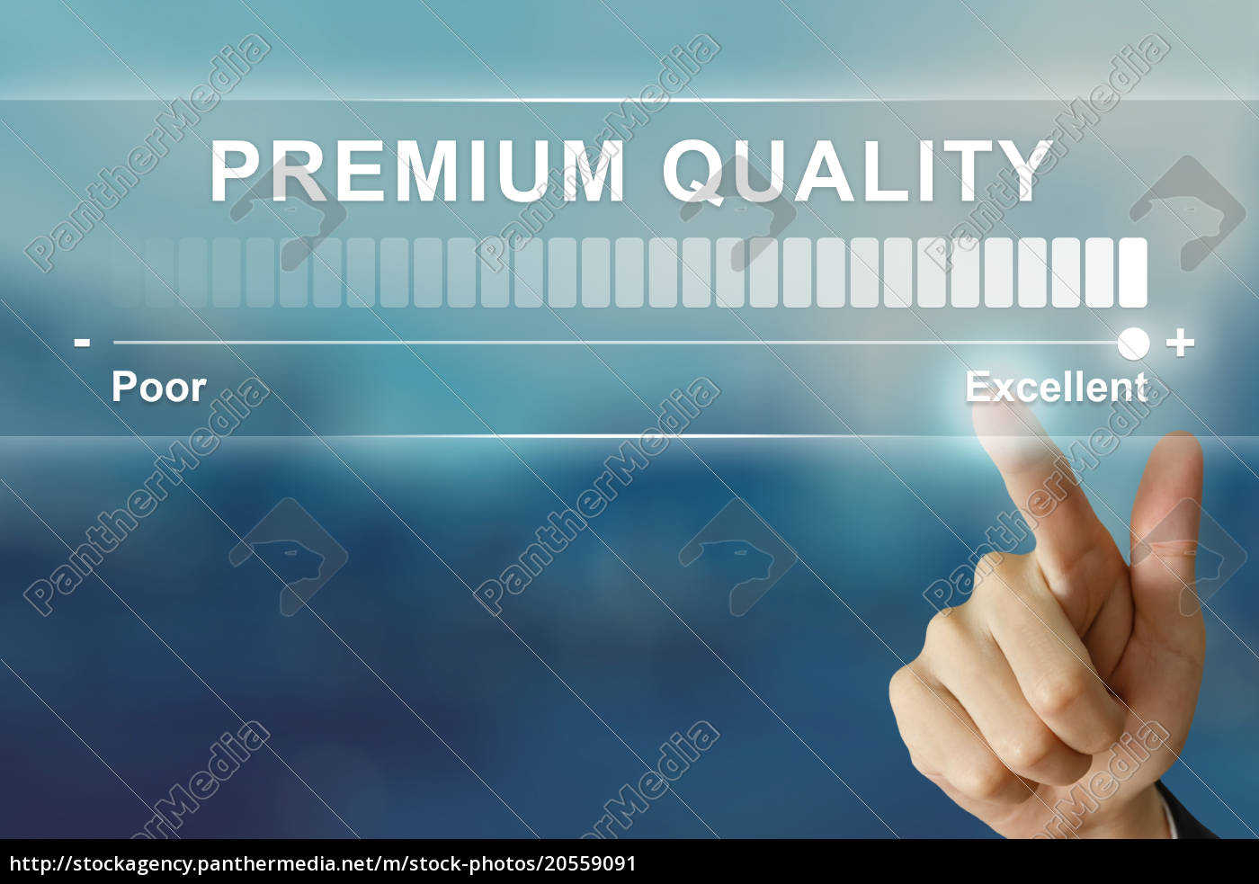 business, hand, clicking, excellent, premium, quality - 20559091