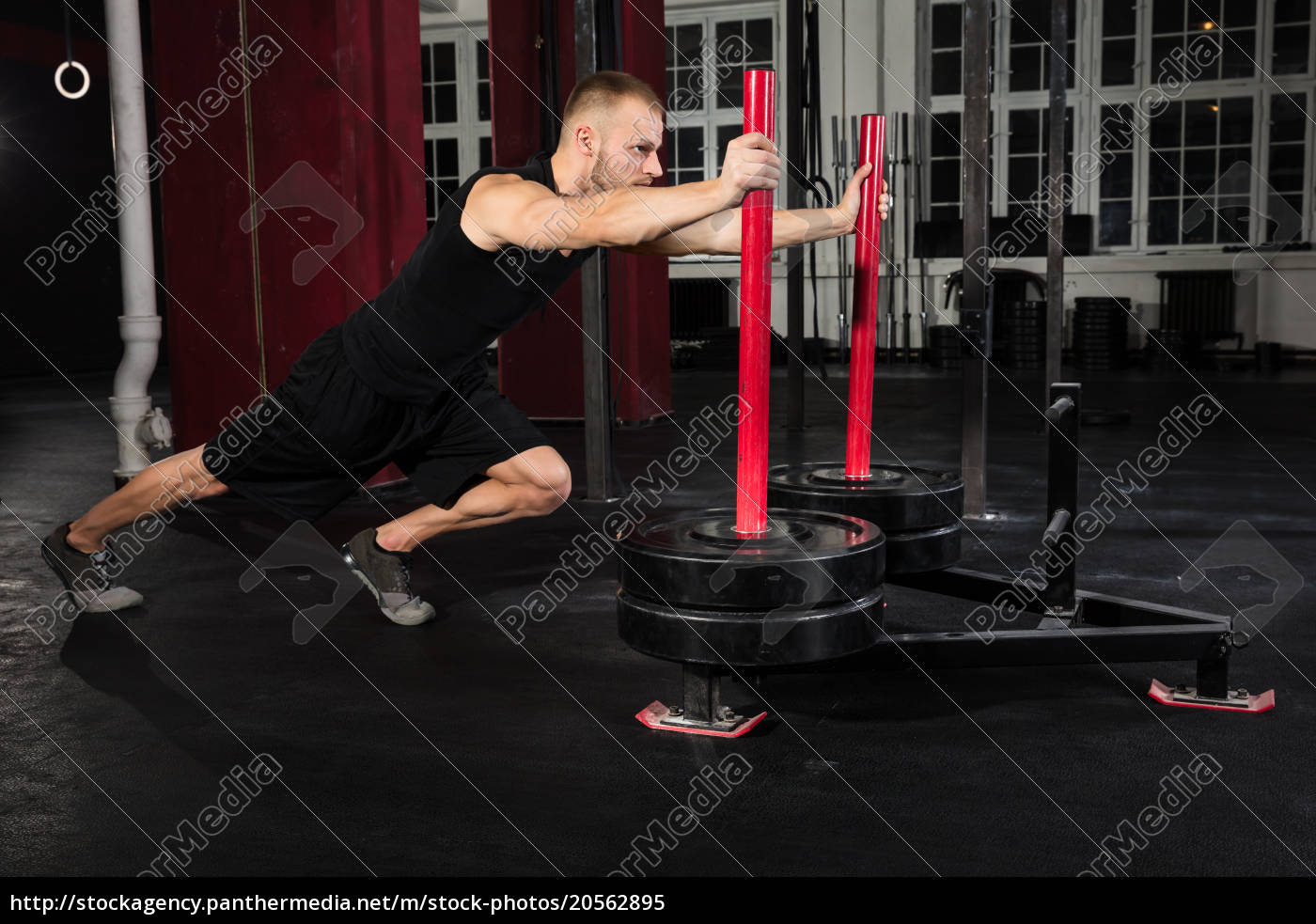 man, working, out, in, the, gym - 20562895