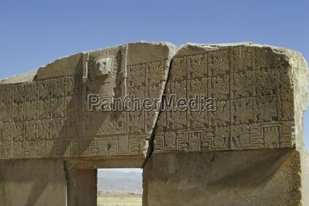 solporten aymara kultur 600 ekr arkaeologisk