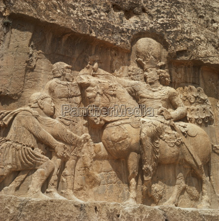 triumph of shapur i sassanid ruler