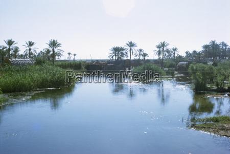 village of the marsh arabs taken