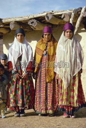 women of the boyerahmad tribe iran