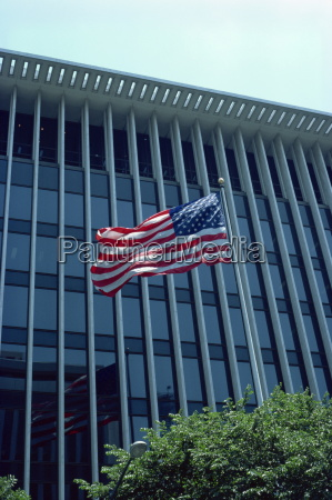 american flag washington dc united states