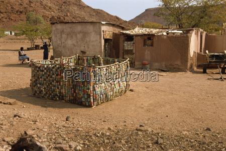 tin walls and door twyfelfontein damaraland