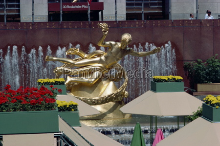 prometheus statue rockefeller center new york