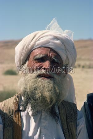 baluchi elder pakistan asia
