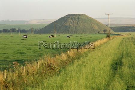 silbury hill wiltshire england united kingdom