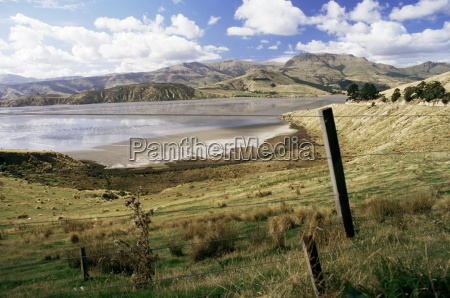 banks peninsula south island new zealand