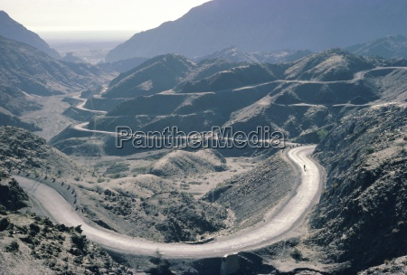 winding road khyber pass area frontier