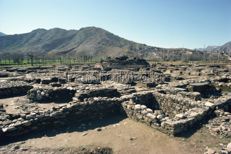 buthara ruins swat pakistan asia