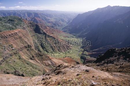 waimea canyon kauai hawaii hawaiian islands