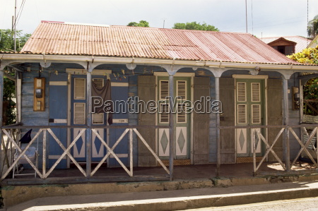 creole dwelling terre de haut guadeloupe