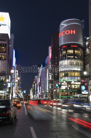 san ai building and chuo dori
