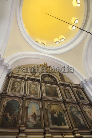 interior of st nicholas church cathedral