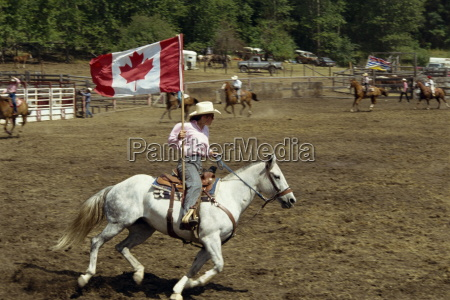 rodeo british columbia canada north america