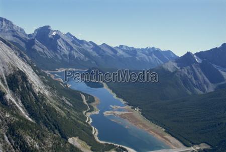 rocky mountains near banff alberta canada