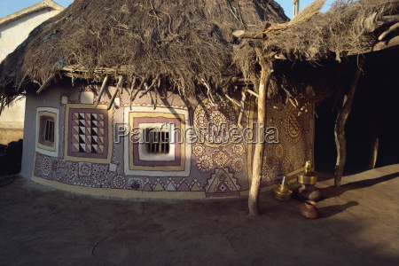 tribal huts of the kutch district