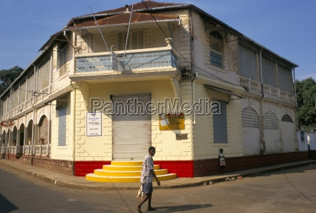 colonial style building hellville andoany nosy