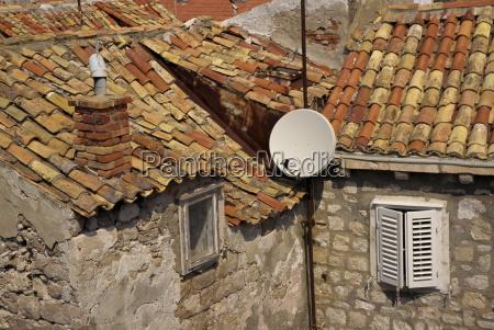 paseo viaje detalle casas europa horizontalmente