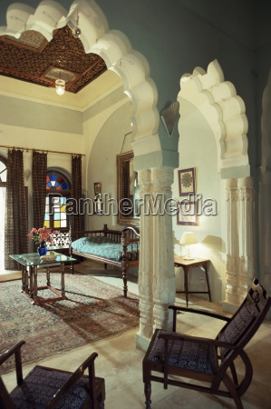 bedroom suite neemrana fort palace hotel