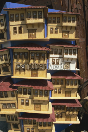 model wooden houses of ottoman mansions