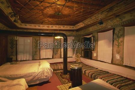 interior of an ottoman home safranbolu