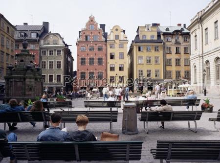 stortorget gamla stan old town stockholm