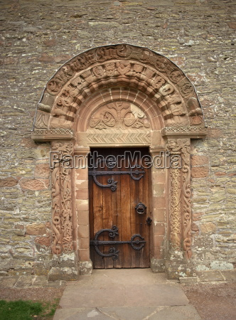 doorway detail from kilpeck church dating