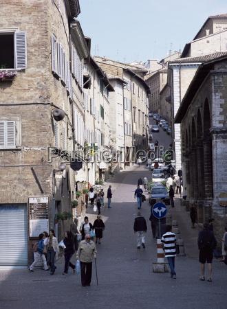 view up via raffaello urbino marche