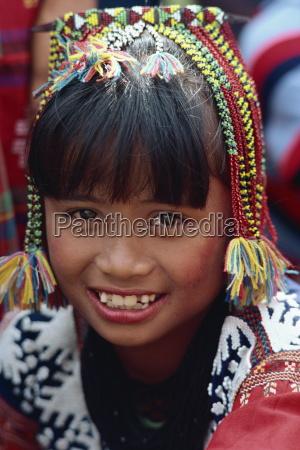 portret dziewczyny z plemienia kalagan slynie